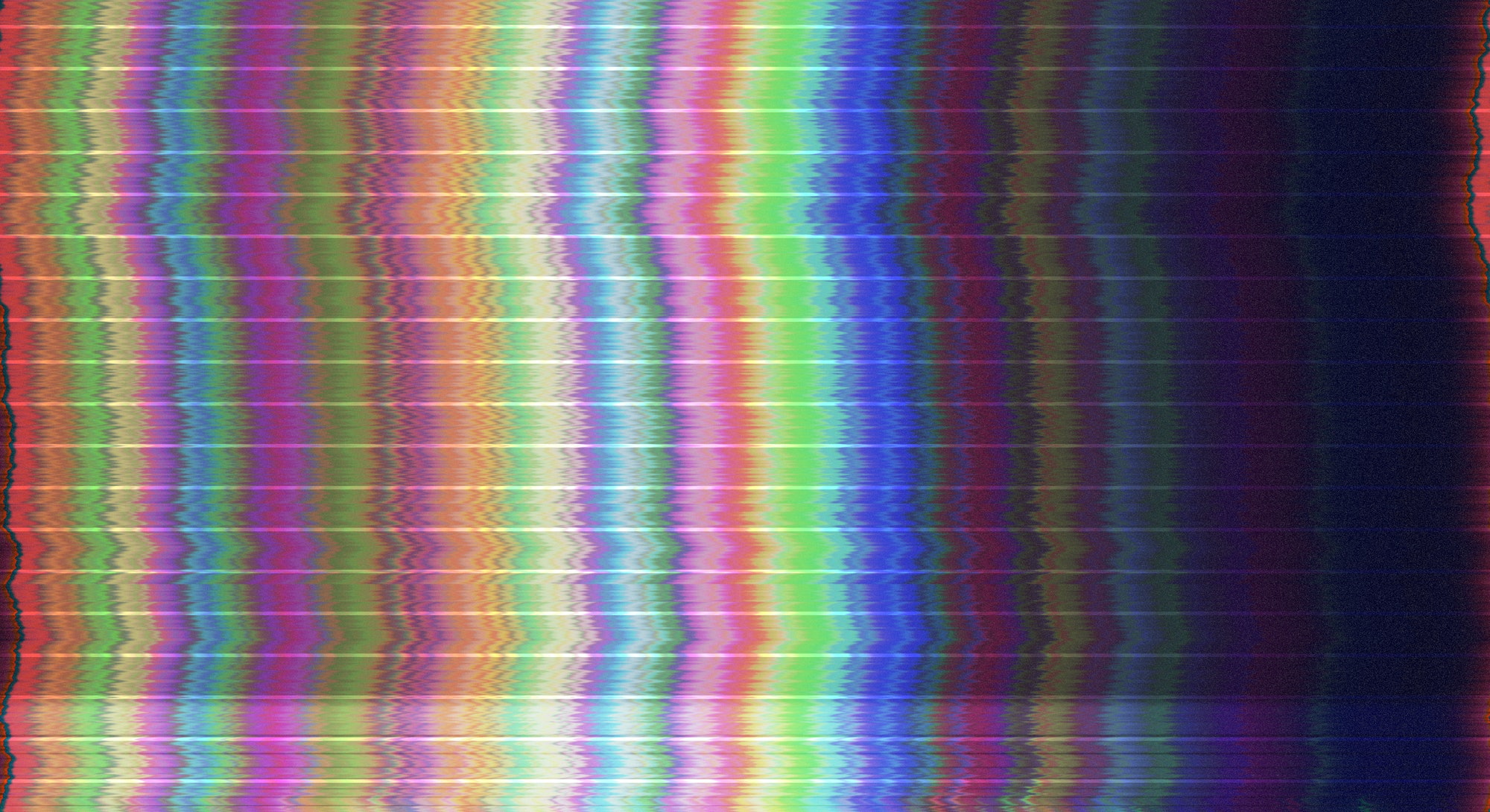 Abstract digital glitch art. Technology error. Video tv signal damage with pixel noise and error int...