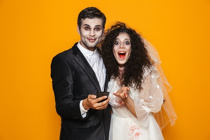 Here are some suggestions for the perfect Instagram caption for your Halloween couples costume.