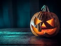 These Halloween Zoom backgrounds include scary pumpkins and skeletons.