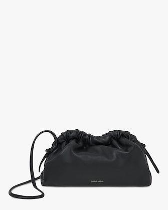 Black Flamma Mini Cloud Clutch: image 1