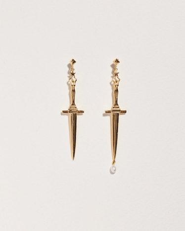 Dagger Earrings: image 1