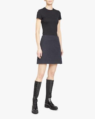 Gignham High-Rise Mini Skirt: image 1