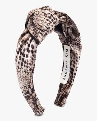Karyn Snakeskin Headband: image 1