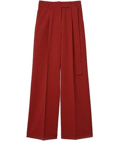 Manuela belted wide-leg pants: image 1