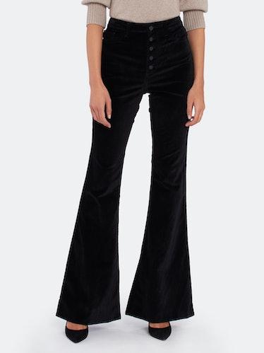 "Rachel 35"" High Rise Flare Jeans: image 1"