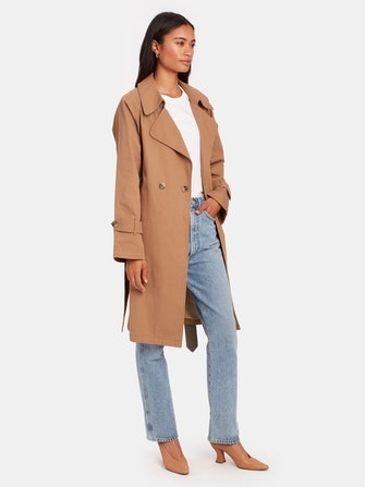 Nicolette Oversized Trench Coat: image 1