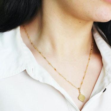 Drop Charm Necklace: image 1