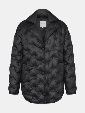 Water-Resistant Cushion Quilted Jacket: image 1