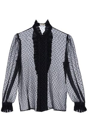 Saint Laurent Fil Coupe' Shirt: image 1