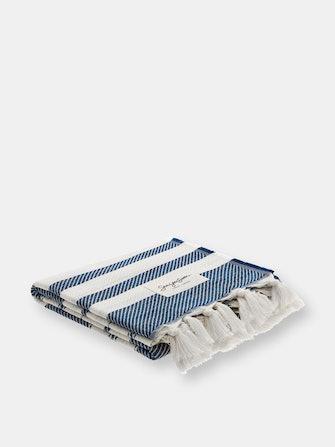 Sea You Soon - Salina Beach Towel Navy Blue: image 1
