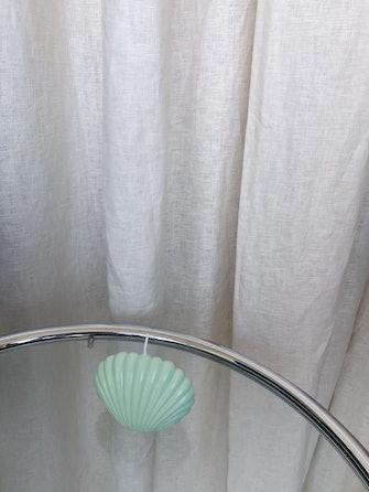 Shell Candle - Seafoam: image 1