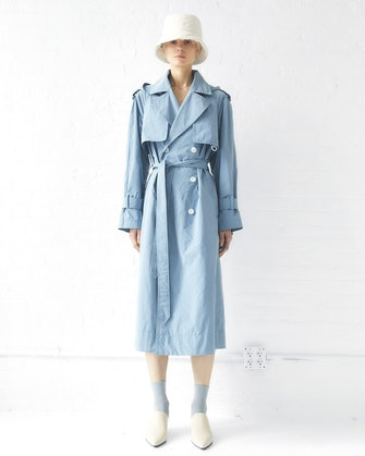 Sustainable Water Resistant Trench Coat: image 1