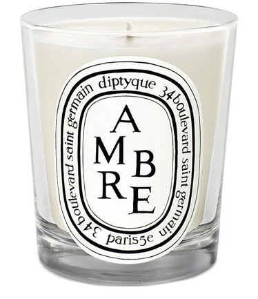 Amber scented candle 190 g: image 1
