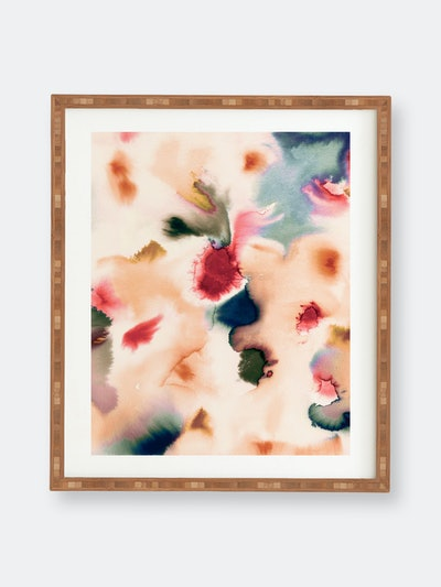 Abstract Watercolor Mineral By Ninola Design: image 1