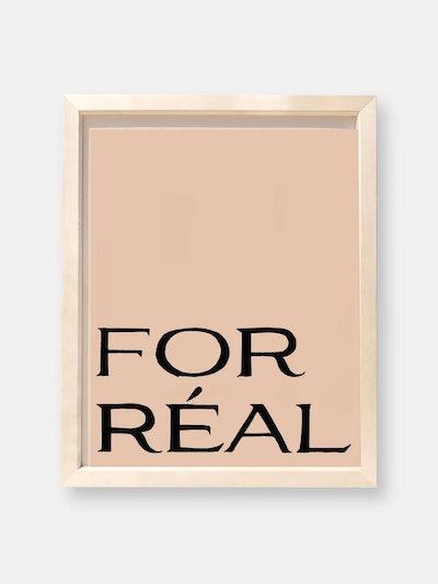 For Réal Art Print in Ginger: image 1