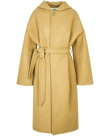 Bathrobe Coat in Wool and Cashmere: image 1