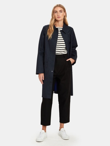 Felicia Wool Rain Coat: additional image