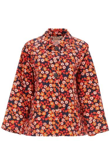 Marni Pop Garden Print Jacket: image 1