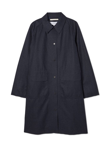 Felicia Wool Rain Coat: image 1