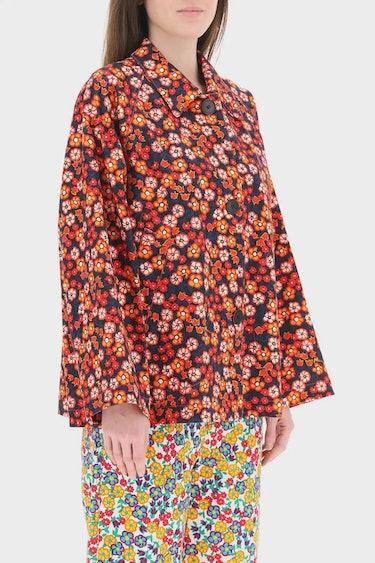 Marni Pop Garden Print Jacket: additional image