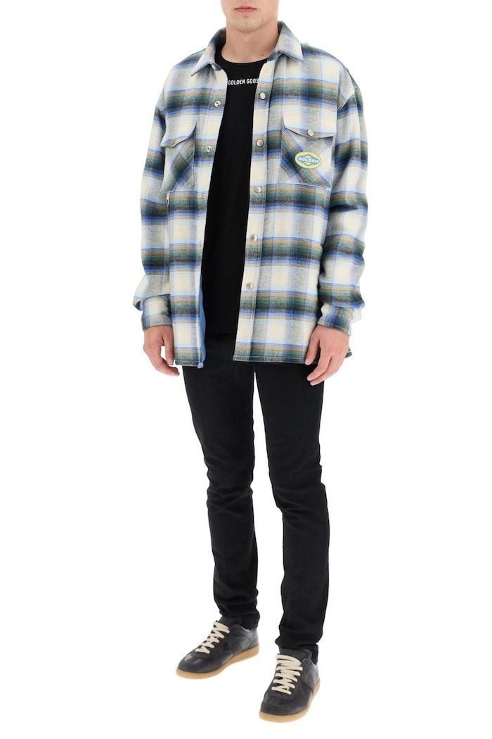 Golden Goose Allen Check Shirt Jacket: image 1