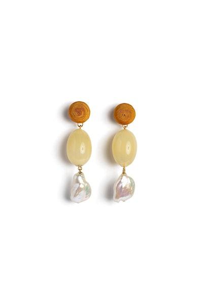 Golden Field Earrings