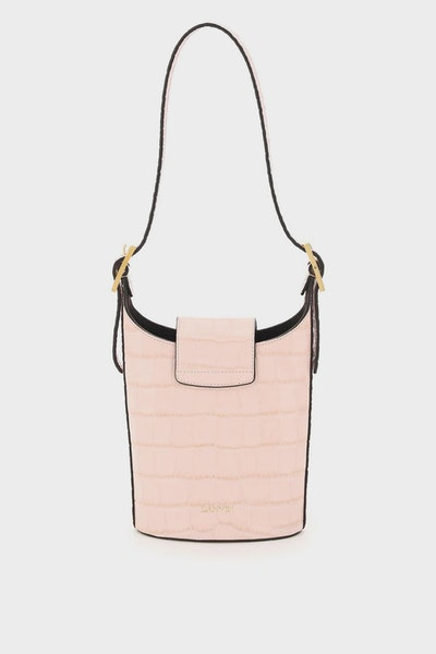 Lanvin Swan Small Bucket Bag