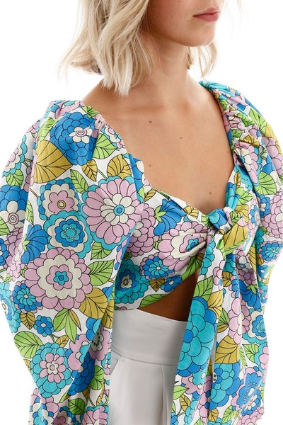 Dodo Bar Or Biby Floral Top: image 1