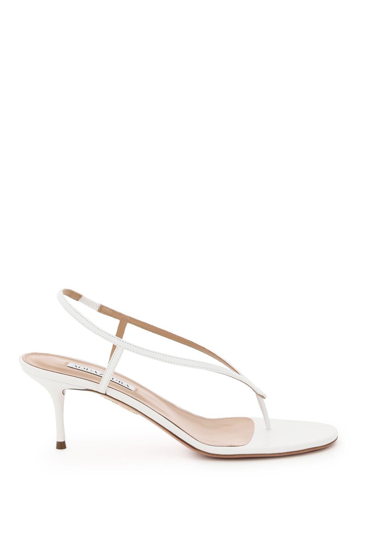 Aquazzura Divina Thong Sandals: image 1