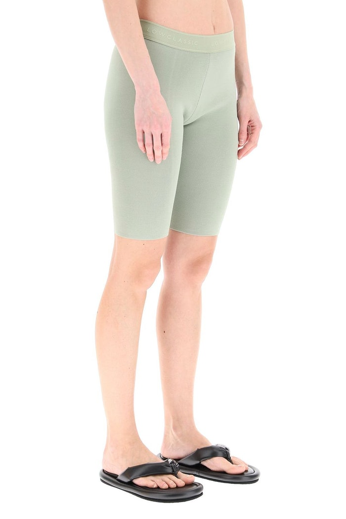 Low Classic Fitted Knit Shorts: image 1