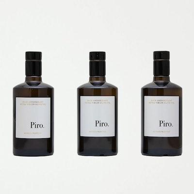 Olio Piro.  Trio - Annata 2019.