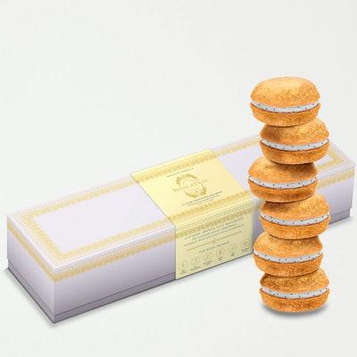 Vanilla Dog Macarons: image 1