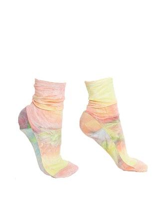 Rainbow Tie-Dye Velvet Socks: image 1