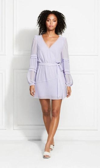 Raquel Dobby Chiffon Mini Dress: image 1