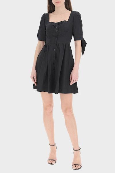 Pinko Mini Shirt Dress With Knots