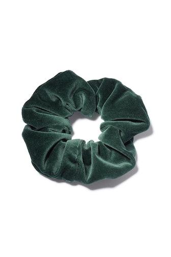 Velvet Scrunchie in Emerald
