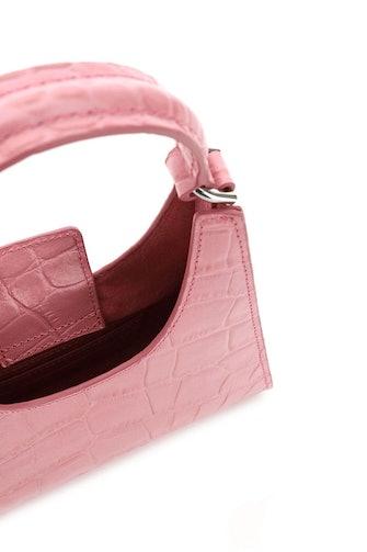 Staud Mini Rey Crocodile Print Bag: image 1