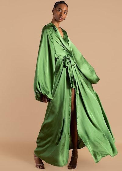 Nali Bubble Sleeve Robe