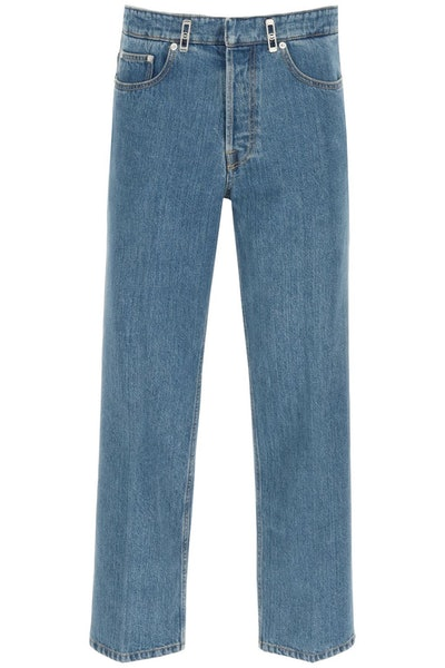 Lanvin Jeans With Crease: image 1