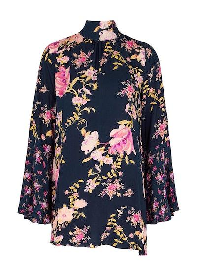 Tate floral-print tunic dress