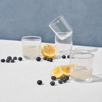 short drinking glass set