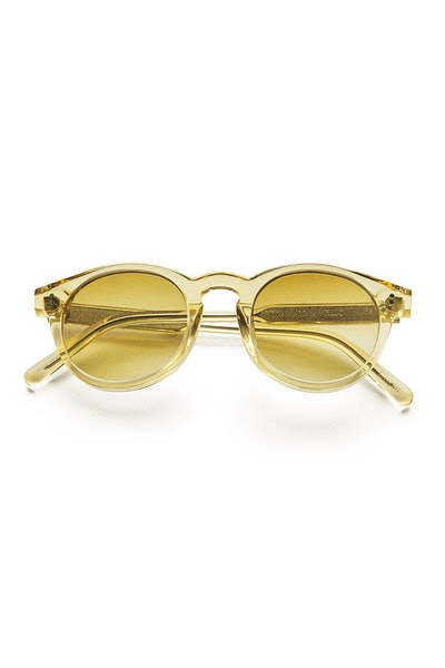 #003 Clear Sunglasses in Yellow
