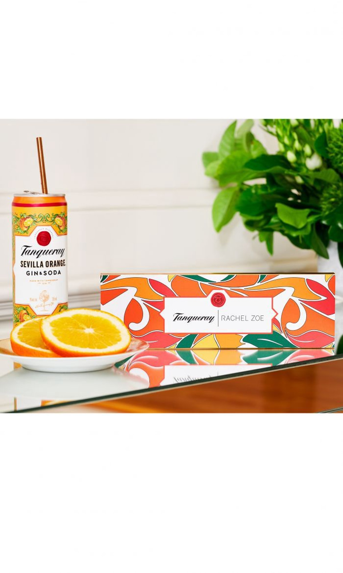 Rachel Zoe x Tanqueray Straw Capsule Collection: image 1