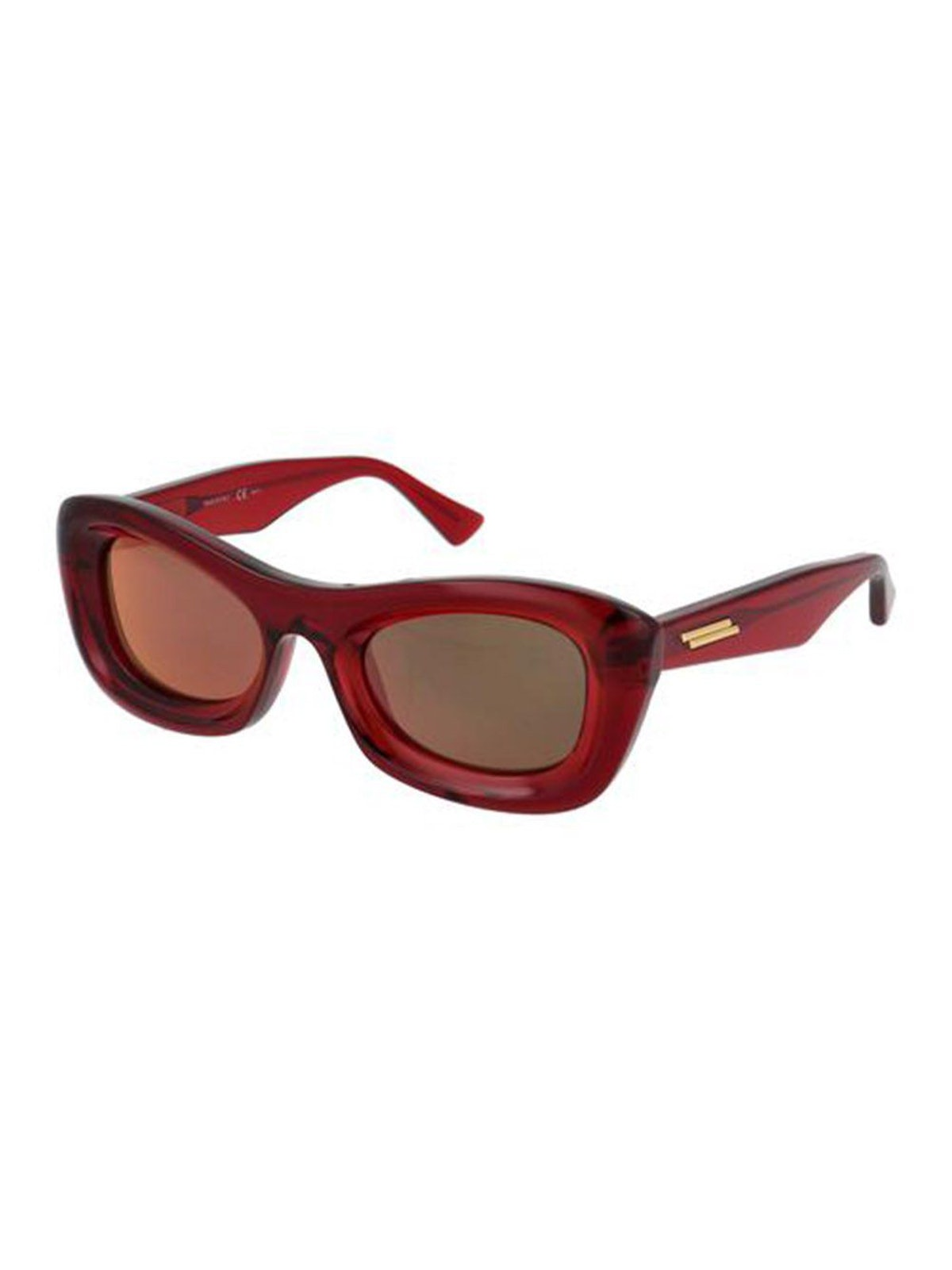 Thick Acetate Clear Sunglasses: image 1
