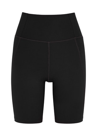 High-Rise Bike black shorts