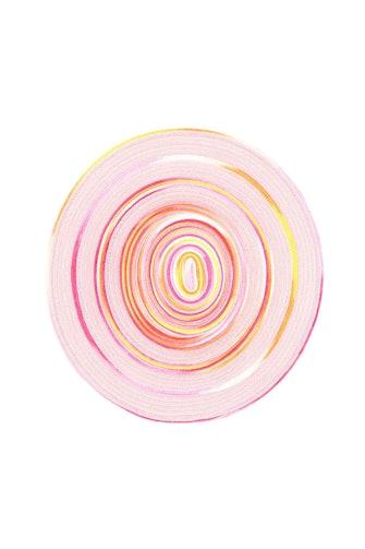 Maison Michel Kat Tie-dye Woven Hat: image 1