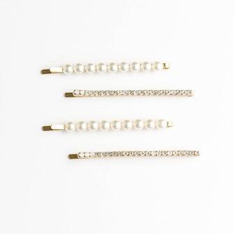 Sparkle Pearl Bobby Pins Multi Set: image 1