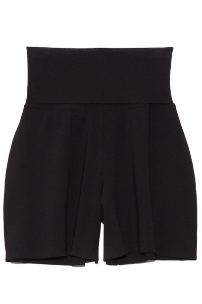 Compact Knit Shorts in Black: image 1