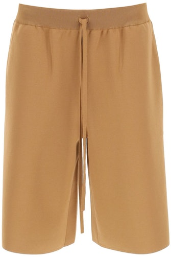 Max Mara Viscose Knit Shorts: image 1