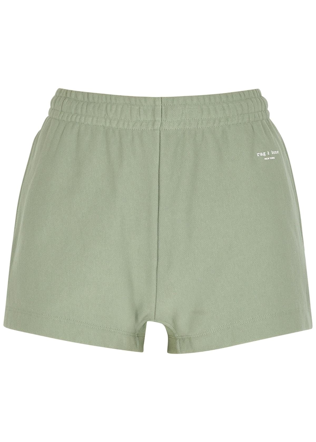 City sage jersey shorts: image 1